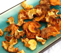 Inspired Edibles: Oven-Baked Sweet Potato & Parsnip Chips