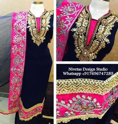 whatsapp 917696747289 punjabi suit - punjabi suits - suits- chooridar suit - Patiala Suit - patiala salwar suits Haute spot for Indian Outfits. We now ship world wide Patiala Salwar Suits, Punjabi Suits, Punjabi Bride, Wedding Salwar Suits, Wedding Suits, Wedding Wear, Punjabi Fashion, Indian Fashion, Black Patiala Suit