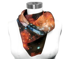 Silk NASA Scarf