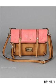 1d42bbb30c3f Simply Noelle Foldover Zipper Crossbody Purse – Blueberi Boutique Luxury  Handbags