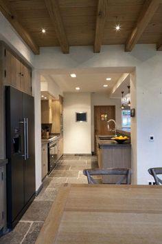 Bourgondisch Kruis - Realisations - Kitchen mooie keuken vloer koelkast/diepvries