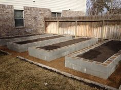 cinder block gardening | ... cinder blocks are they are my new spring tx cinder block raised bed