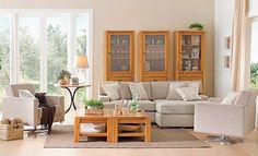 Tok Estar  Ofereça conforto e personalidade ao melhor ponto de encontro da casa: a sala de estar.