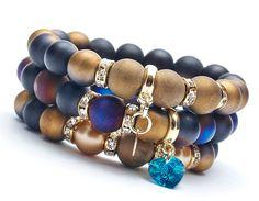 Set bracelets 668 AB from Blackif by DaWanda.com