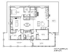 Eco Farmhouse 1700 Plan