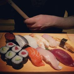 A truly phenomenal meal at a sushi bar in Tokyo. Image taken by @lunarsynthesis #LP #travel #Tokyo #Japan