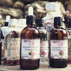 Organic Oils Organic Oils, Geranium Oil, Milk Thistle, Rose Oil, Geraniums, Whiskey Bottle, Berries, Drinks, Drinking