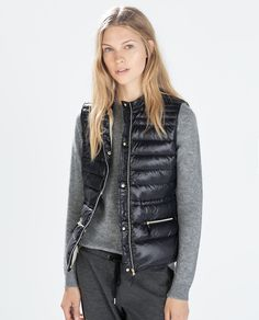 Image 1 of QUILTED ULTRALIGHT VEST from Zara