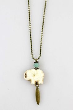 Collar elefante Blanco, Collar, complementos, necklace, collier, compliments, accessories, accesorios, , System Action, shop online, lookbook, model, street Style, SS2015, PV2015, new collection, details, beautiful