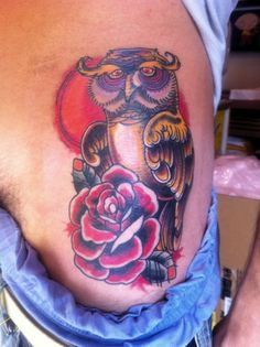 Tattoo Gufo