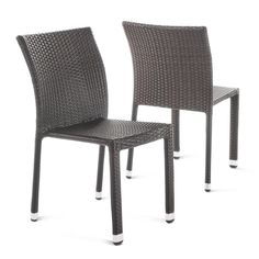 Fabulous Monroe 2Pk Stack Patio Dining Chair Threshold House Gmtry Best Dining Table And Chair Ideas Images Gmtryco