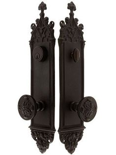 Colburg Entry Set with Maltesia Knobs Gothic Door Entry Lock Set – admit it its awesome. 10 years ago this would have been on my bedroom door in a heart beat. Goth Home Decor, Gothic Bedroom Decor, Gypsy Decor, Goth Bedroom, Gothic Room, Casa Top, Gothic Interior, Interior Office, Modern Interior