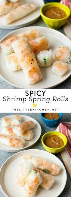 Get the recipe Spicy Shrimp Spring Rolls @recipes_to_go