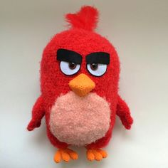 Red By Angry birds, PDF CROCHET PATTERN, Instant Download, Amigurumi by Amigurushki on Etsy