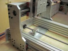 aluminum cnc router build
