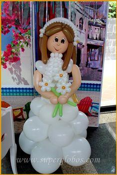 Decoración con globos para fiestas y eventos en Alicante Eid Balloons, Wedding Balloons, Communion Decorations, Birthday Decorations, Wedding Decorations, Balloon Columns, Balloon Arch, Balloon Basket, Background Decoration