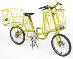 multi-basket bicycle