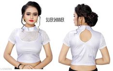 Blouses Myra Alluring Women Blouse Fabric: Lycra Sleeve Length: Long Sleeves Pattern: Checked Multipack: 1 Sizes: Free Size (Bust Size: 38 in Length Size: 15 in Waist Size: 30 in Hip Size: 30 in Shoulder Size: 30 in) Country of Origin: India Sizes Available: Free Size   Catalog Rating: ★4 (305)  Catalog Name: Myra Alluring Women Readymade Blouse CatalogID_836242 C74-SC1007 Code: 572-5588589-744