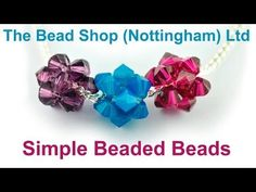 This tutorial from The Potomac Bead Company shows you how to use RAW (Right Angle Weave) to make beaded beads with your choice of beads. Beaded Beads, Beaded Jewelry Patterns, Beaded Earrings, Beading Patterns, Beaded Bracelets, Seed Bead Tutorials, Beading Tutorials, Easy Crochet Slippers, Bead Shop