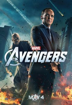 """Yay! Agent Coulson gets his own """"Avengers"""" promo poster."""