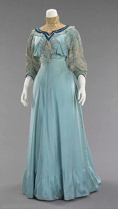 1906-08 Paquin afternoon dress