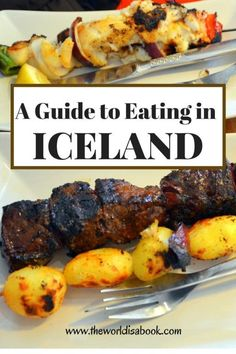 Guide and Tips for Eating in Iceland with (or without) kids. See the interesting things we found at the local supermarkets.