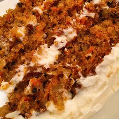 The Best Carrot Cake Spend With Pennies. The BEST Carrot Cake Recipe Next Day Cakes And Cream . Food Cakes, Cupcake Cakes, Carrot Cake Cupcakes, Carrot Cake With Pineapple, Pineapple Coconut, Baking Recipes, Dessert Recipes, Carrot Recipes, World's Best Carrot Cake Recipe