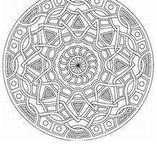 Mandala  53 - Coloring page - MANDALA coloring pages - Mandalas for EXPERTS