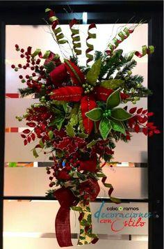 Decoración Swag navidad 2014