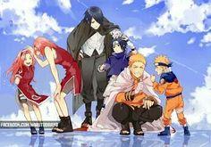Sasuke Naruto and Sakura Anime 445 Naruto Team 7, Naruto And Sasuke, Naruto Uzumaki, Anime Naruto, Anime Chibi, Manga Anime, Naruto Cute, Sarada Uchiha, Kakashi