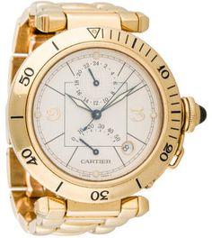 Cartier Pasha GMT Watch 2395