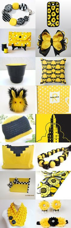 Black and yellow by Andrey on Etsy--Pinned with TreasuryPin.com