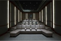 Oversized Floor Pillows: Stylish Home Theater Design Ideas With ...