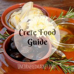 Crete Food Guide: An Overview of Cretan Cuisine and Best Dishes Greece Cruise, Greece Vacation, Greece Travel, Elounda Crete, Heraklion, Greece Food, Crete Greece, Crete Holiday, Best Dishes