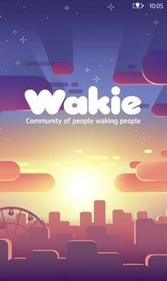 Wakie app: la sveglia social.