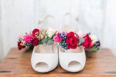 Wedding shoes and floral crown Wedding Shoes, Wedding Day, Wedding Rings, Anna, Floral Crown, Wedding Details, Wedding Photography, Bridal, Inspiration