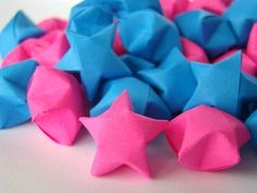 Gender Reveal Party - Hot Pink and Blue Lucky Stars Star Baby Showers, Baby Shower Parties, Baby Shower Gifts, Gender Party, Theme Color, Baby Shower Gender Reveal, Reveal Parties, Baby Love, Party Planning