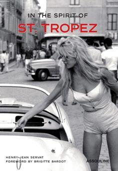 Brigitte Bardot in St. Tropez.