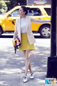 Gao Yuanyuan in New York