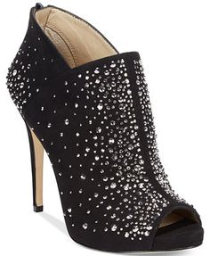 INC International Concepts Saffi2 Bling Evening Booties  Web ID: 1593687  size 6 in black or sahara