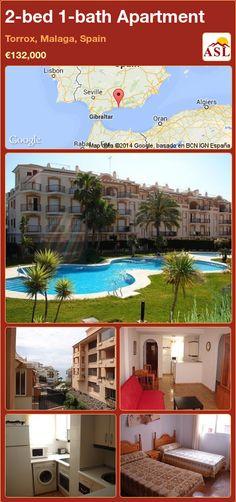 2-bed 1-bath Apartment in Torrox, Malaga, Spain ►€132,000 #PropertyForSaleInSpain