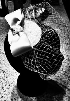 1950's Birdcage veil www.littleredhat.org