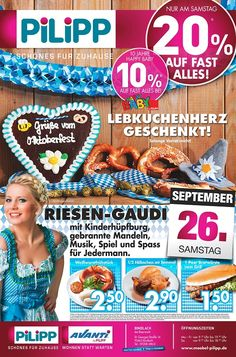 Oktoberfest bei PILIPP in Bindlach bei Bayreuth.