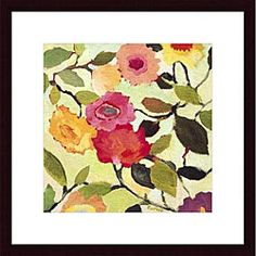 @Overstock - Artist: Kim Parker  Title: Wild Roses  Product Type: Framed Printhttp://www.overstock.com/Home-Garden/Kim-Parker-Wild-Roses-Wood-Framed-Art-Print/4121150/product.html?CID=214117 $101.69