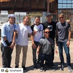 "49 Likes, 1 Comments - By Robert James (@byrobertjames) on Instagram: ""@tonyhawk rocking our ""Hoffman"" bamboo tee while hanging with the Jackass gang!"""