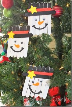 Fun Easy Christmas Craft #easy #christmascraft #funforkids