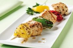 Pineapple-Chicken Kabobs recipe food-and-presentation