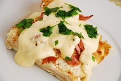 Checkout this incredible Eggs Benedict Casserole Recipe at LaaLoosh.com. Complete with a homemade Hollandaise sauce topping, each serving is just 6 Weight Watchers Points +.