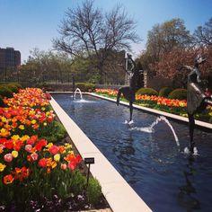 Kauffman Memorial Garden, where Bryce and Giselle finally actually, you know, TALK.