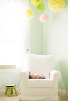 Project Nursery - Girly Baby Nest